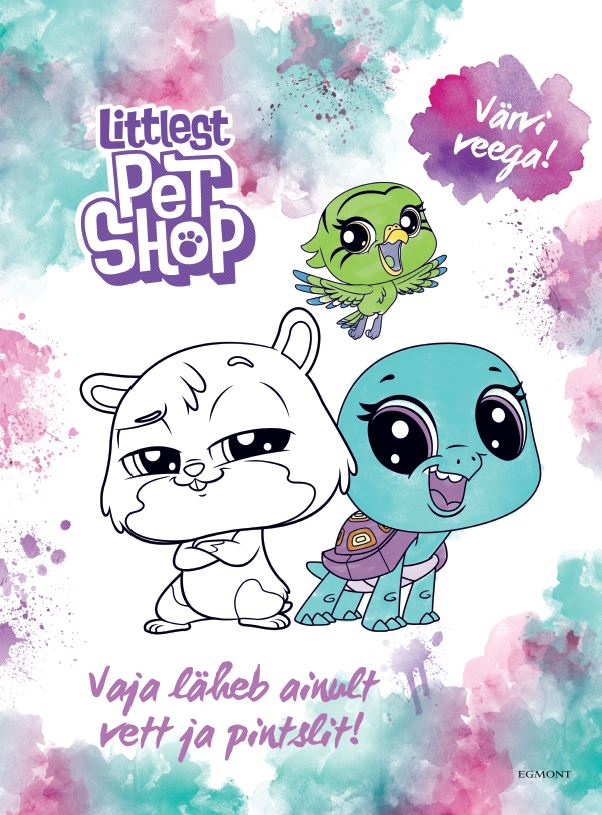Littlest pet shop. värvi veega