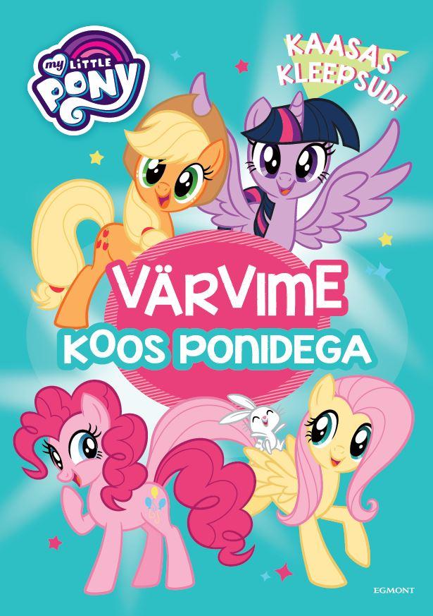 My little pony. värvime koos ponidega!