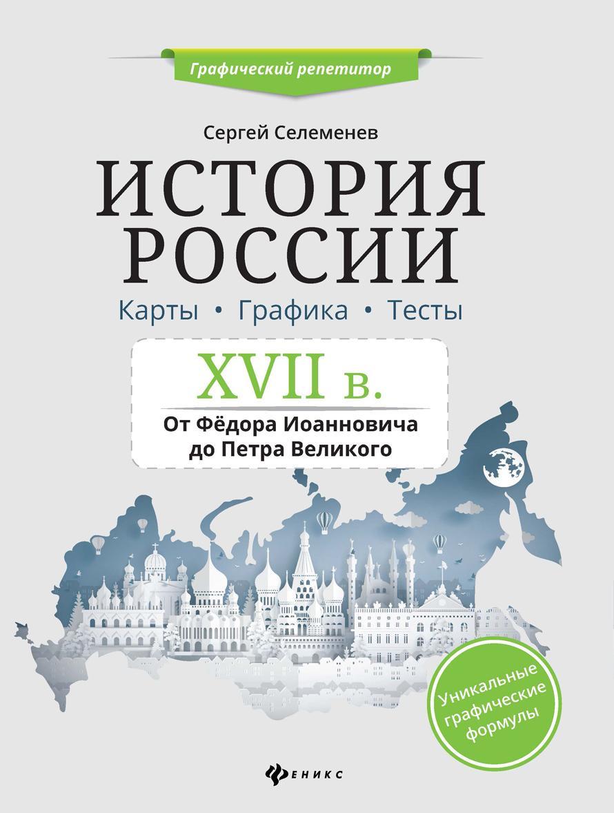 Istorija Rossii. XVII v. Karty. Grafika. Testy