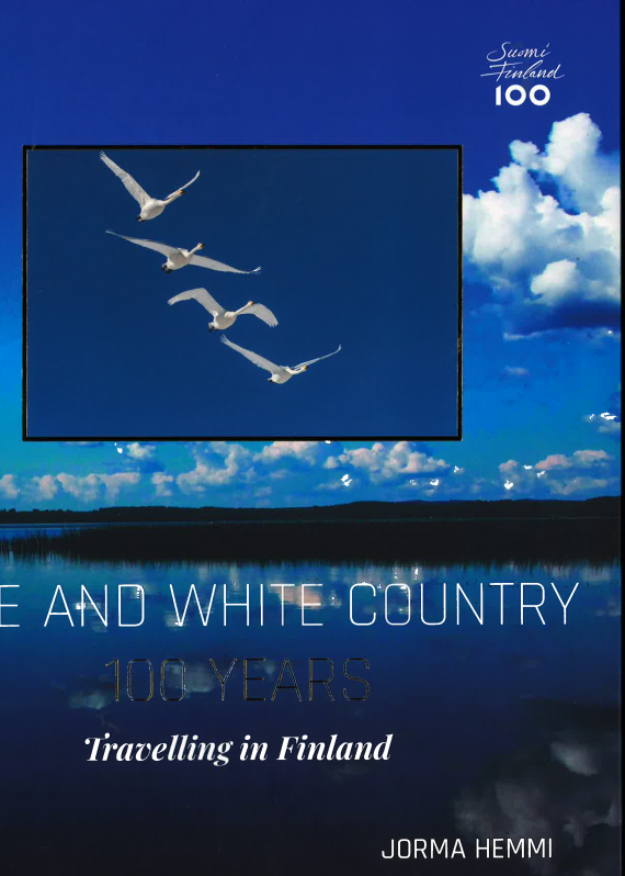Blue and white country - 100 years. Travelling in Finland