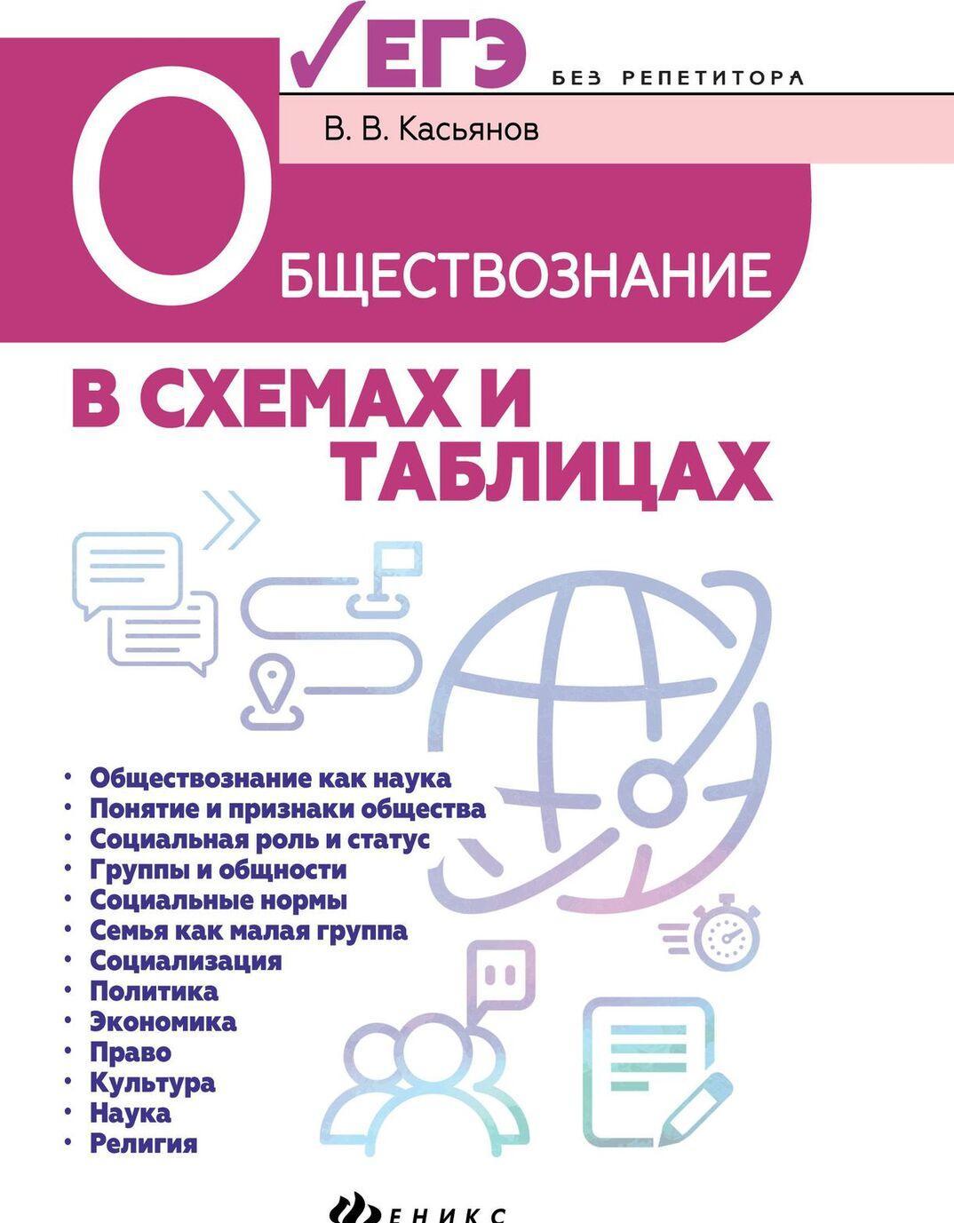 Obschestvoznanie v skhemakh i tablitsakh | Kasjanov Valerij Vasilevich