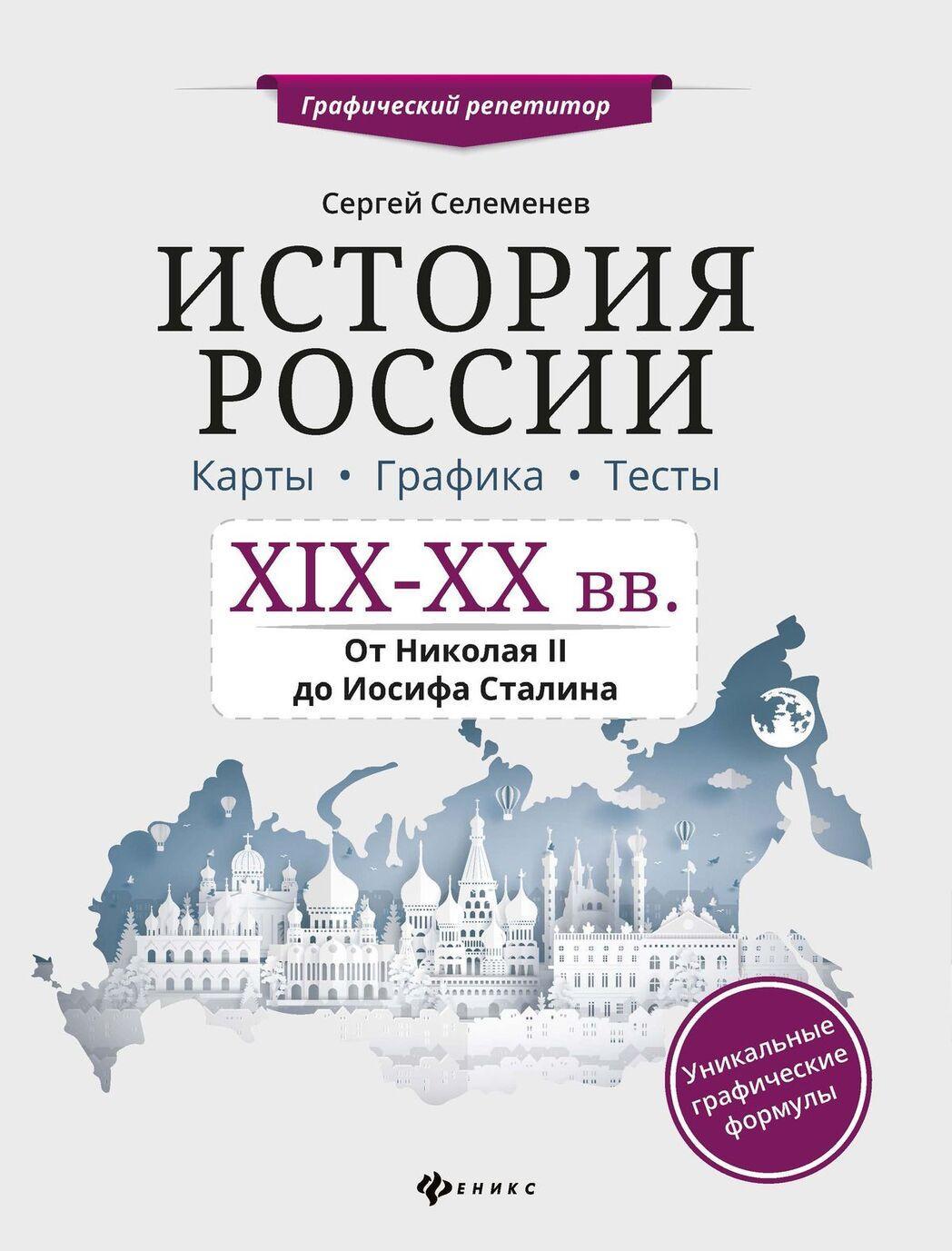 Istorija Rossii.XIX-XX v.Karty.Grafika.Testy