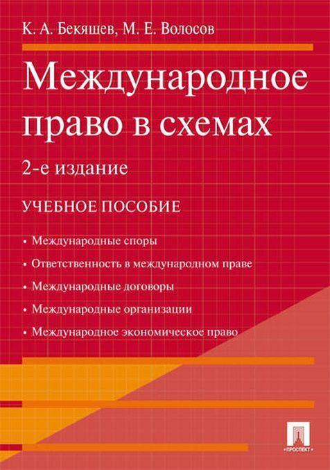 Mezhdunarodnoe pravo v skhemakh.Uch.pos.-2-e izd.-M.:Prospekt,2020.