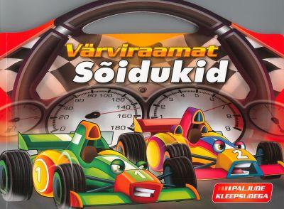 Värviraamat. sõidukid