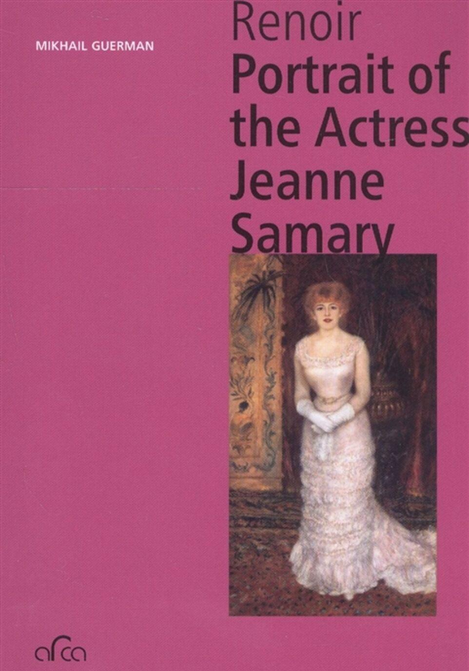 Pierre Auguste Renoir. Portrait of the Actress Jeanne Samary