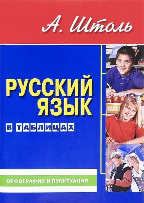 Russkij jazyk v tablitsakh. Orfografija i punktuatsija | Shtol Aleksandr Aleksandrovich