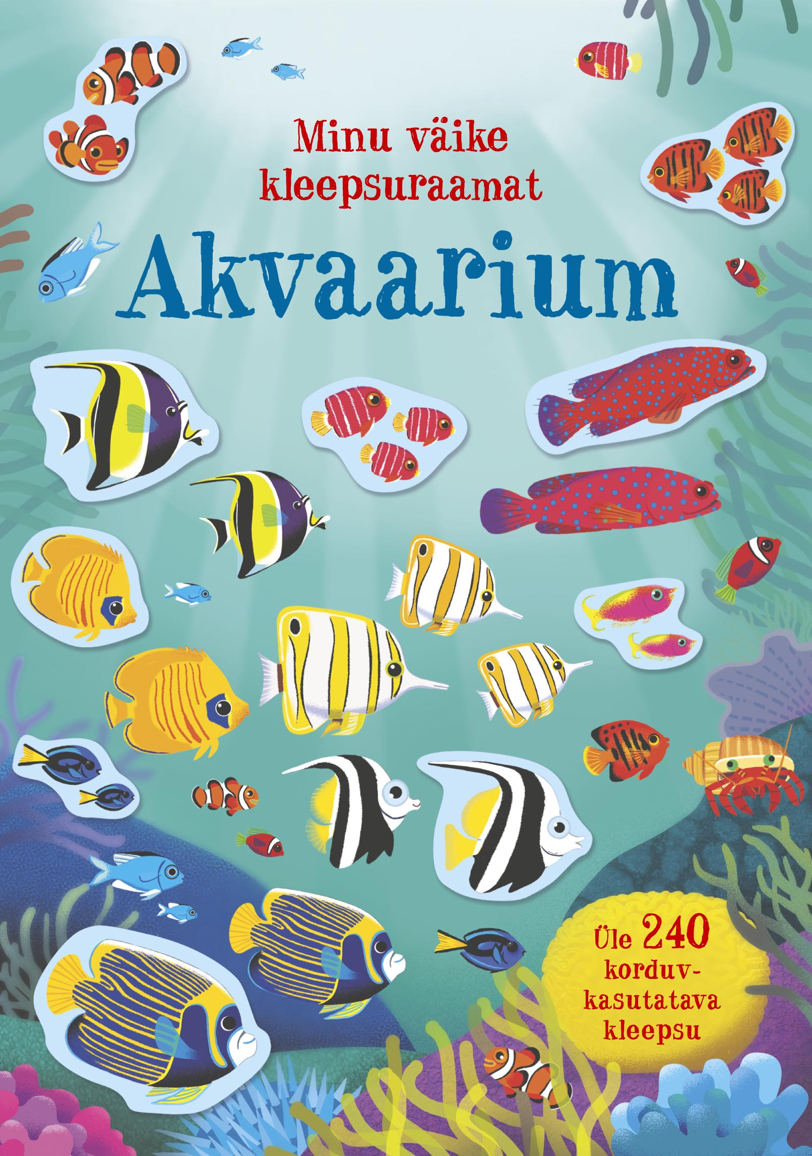 Akvaarium. minu väike kleepsuraamat