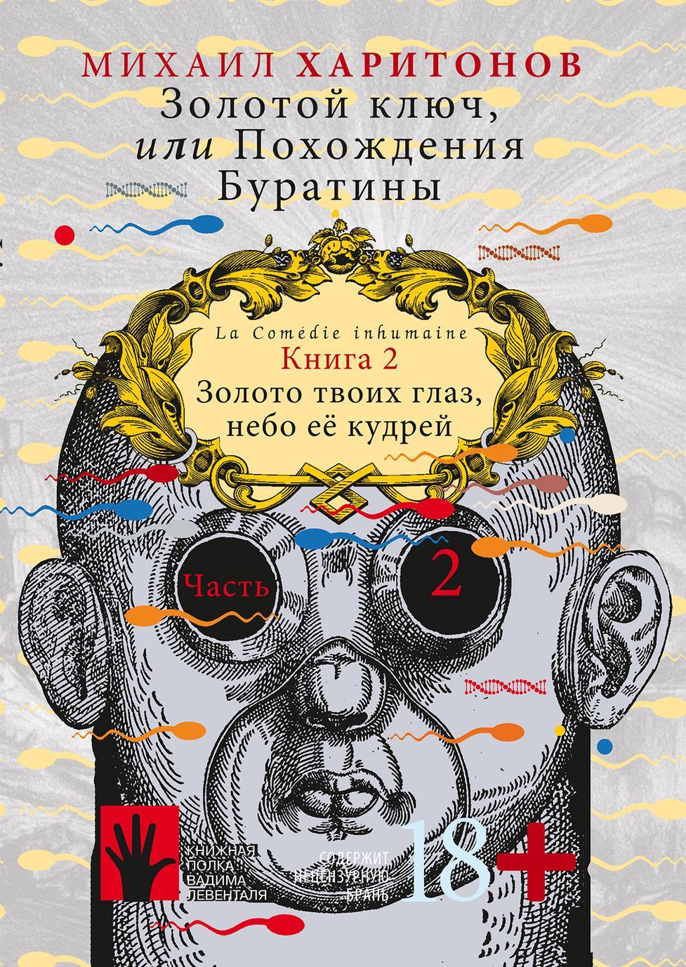 Zolotoj kljuch, ili Pokhozhdenija Buratiny. Kniga 2 v 2-kh chastjakh.Chast 2. Zoloto tvoikh glaz, nebo ee kudrej.