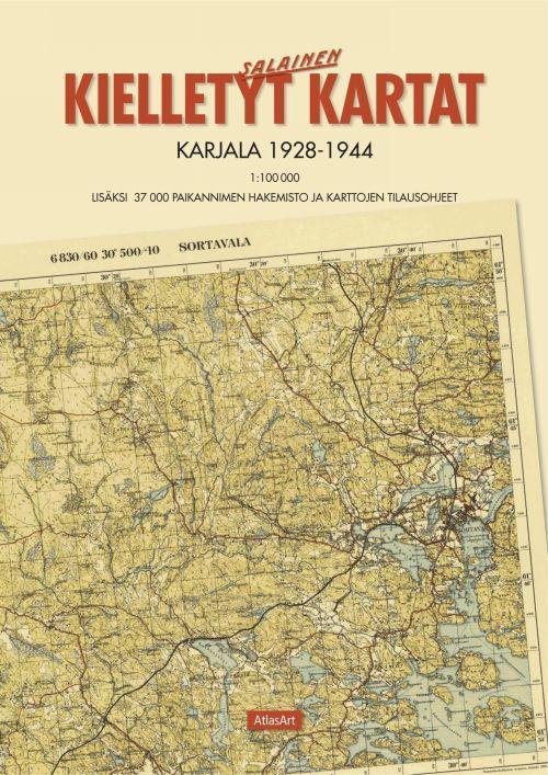 Kielletyt kartat. Karjala 1928-1944, 1:100 000