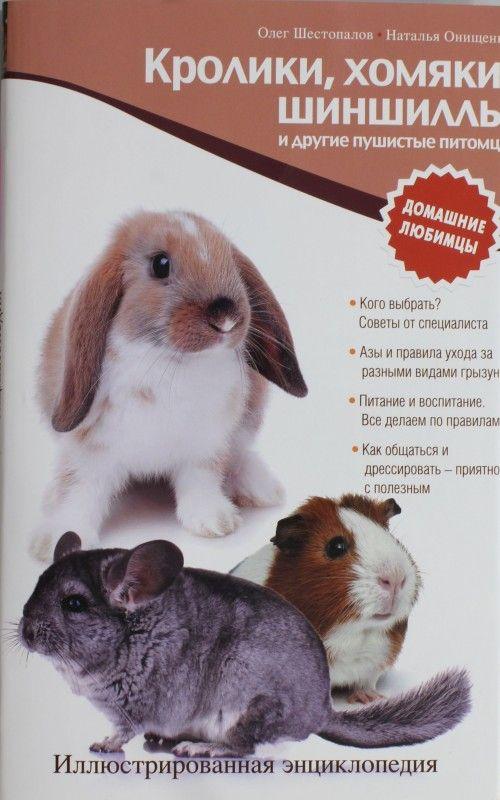 Кролики, хомяки, шиншиллы и другие пушистые питомцы. Иллюстрированная энциклопедия