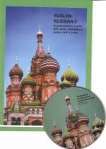 Ruslan Russian 2 Supplementary Reader with texts, translations, poems and a song on audio CD