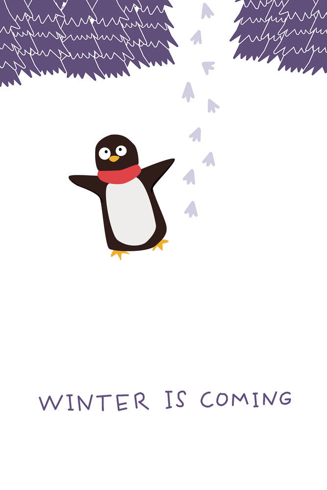 Winter is coming (Софт-тач тетрадь)