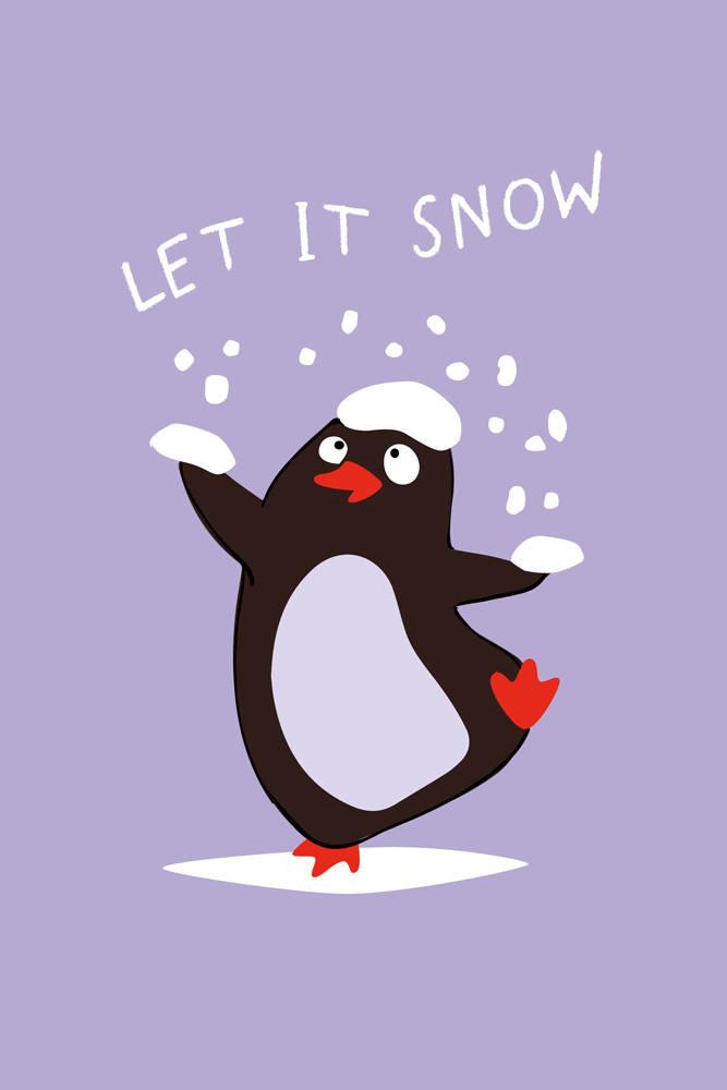 Let it snow (Софт-тач тетрадь)