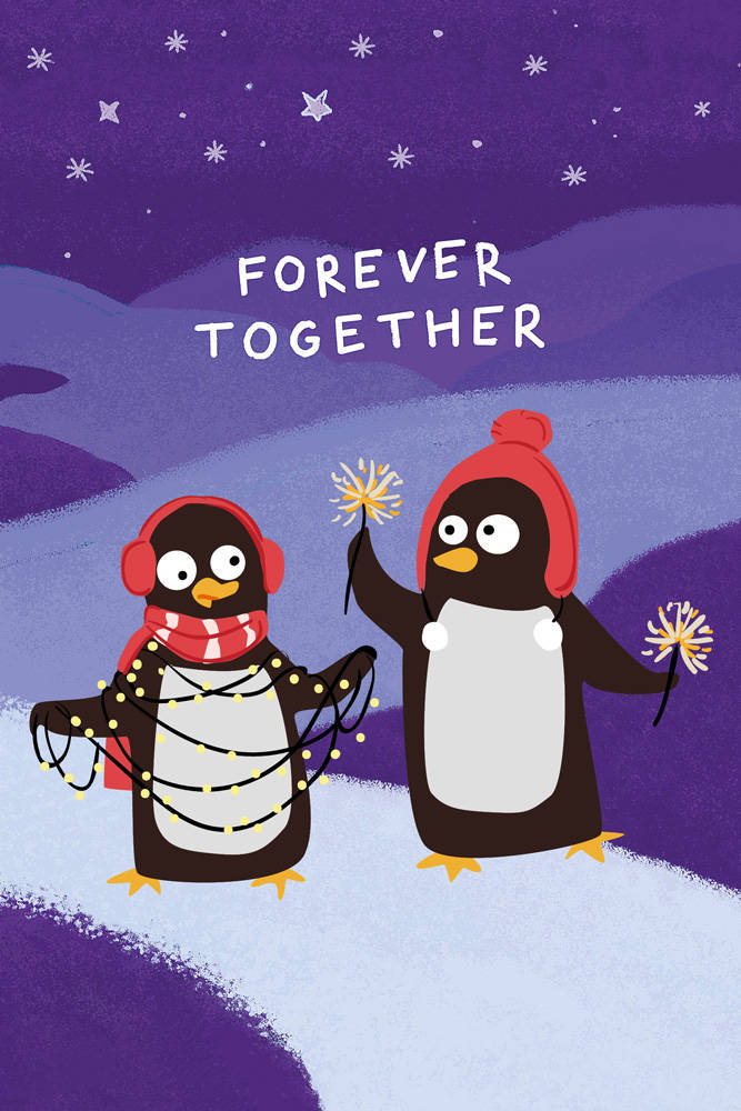 Forever together (Софт-тач тетрадь)