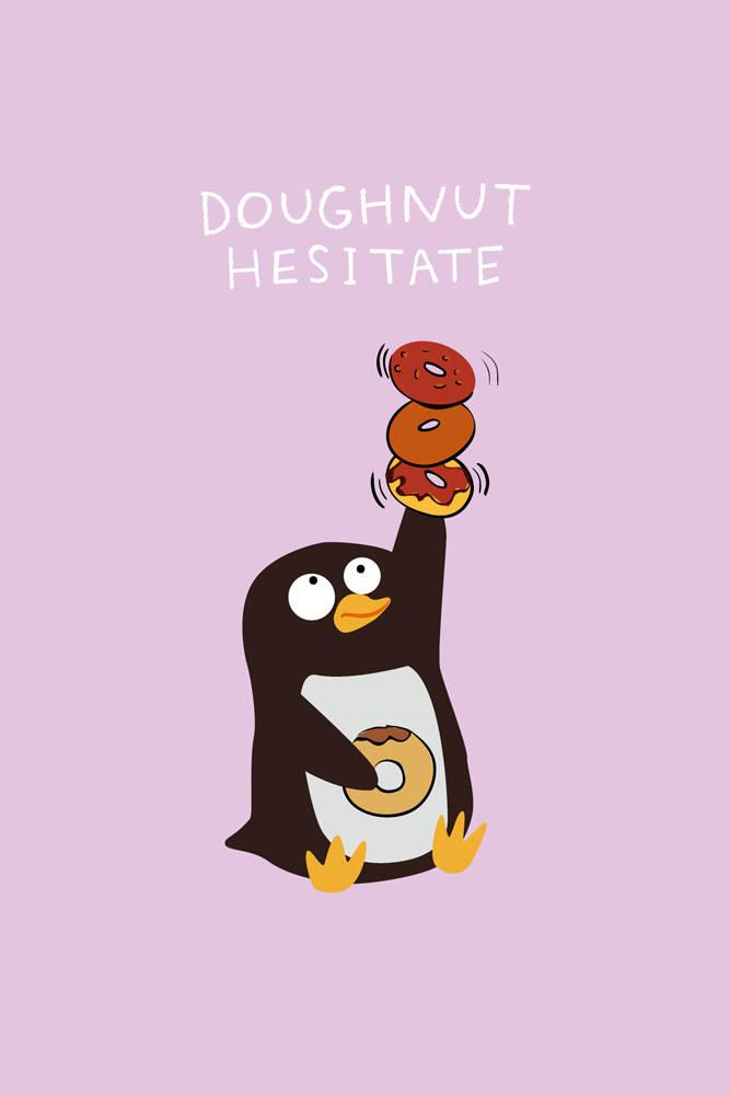 Doughnut hesitate (Софт-тач тетрадь)