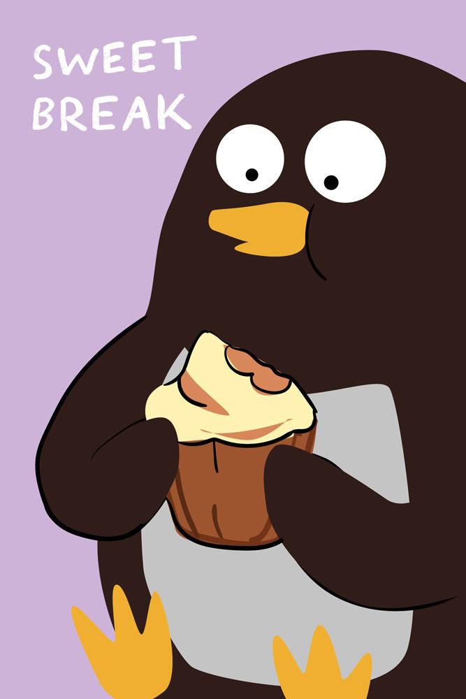 Sweet break (Софт-тач тетрадь)