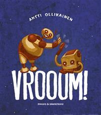 Vrooom!. Rymdraketbok för småbarn