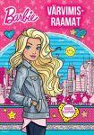 Barbie. värvimisraamat kleepsudega