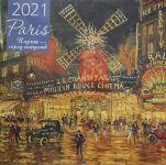 Parizh - gorod iskusstv. Kalendar nastennyj na 2021 god (300kh300 mm)