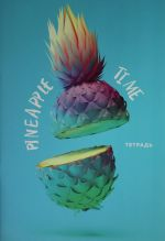 Tetrad. Pineapple Time, B5, mjagkaja oblozhka, 40 l.