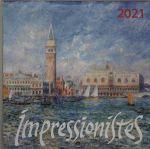 Impressionisty. Kalendar nastennyj na 2021 god (170kh170 mm)
