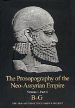 The Prosopography of the Neo-Assyrian Empire. B-G. PNA 1/II