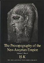 The Prosopography of the Neo-Assyrian Empire, Volume 2, Part 1. H - K. PNA 2/I