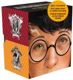 Garri Potter. Komplekt iz 7 knig v futljare / Harry Potter in Russian - 7 books in a paperbox