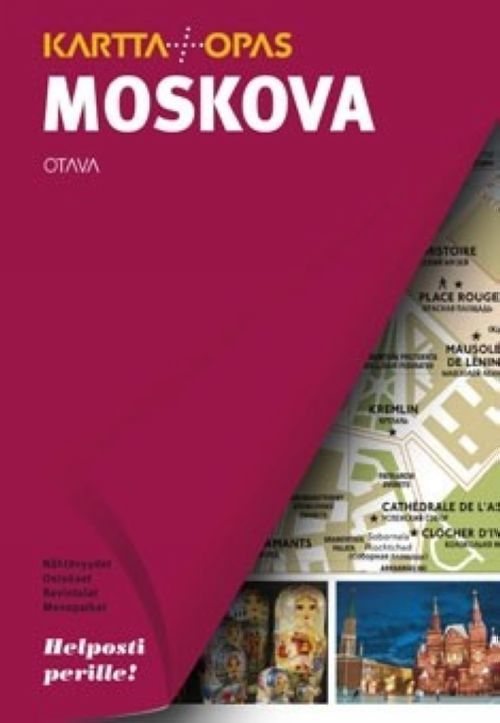 Moskova. Kartta + opas