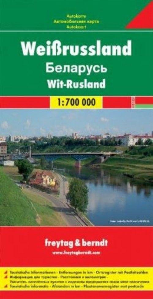 Belarus, Road map 1:700.000