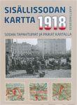 Sisällissodan 1918 kartta, 1:1 000 000 - Kartta, viikattu, suomi, 2018