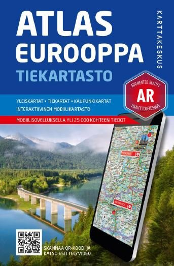 Road Atlas Europe 1:800 00/1:100 000/1:5 milj.
