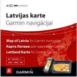 Карта Латвии для Garmin навигации с маршрутизацией