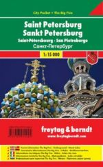 Saint Petersburg. City map. 1:15 000 (miniformat)