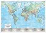 Карта мира 1:30 milj., 135 × 96 cm