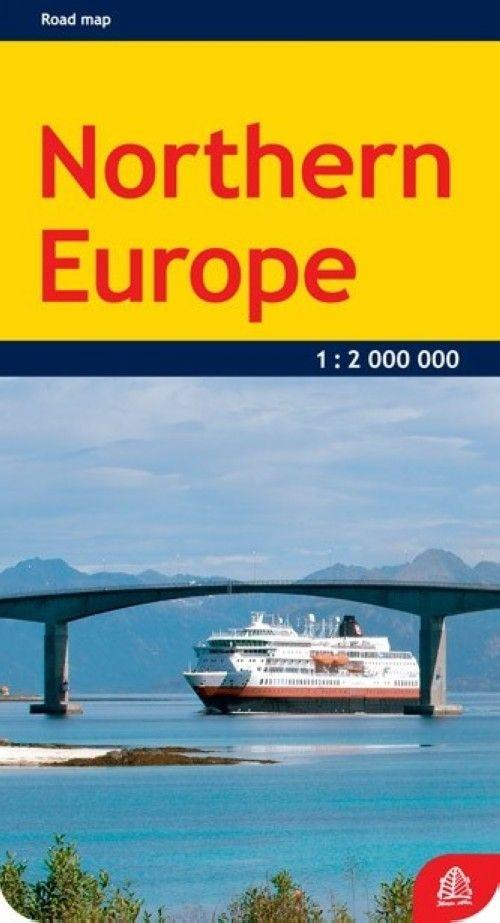 Северная Европа. Масштаб 1:2 000 000