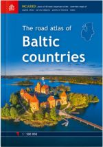 The road atlas of Baltic countries. 1: 200 000