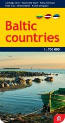 Baltic countries. Scale: 1:700 000