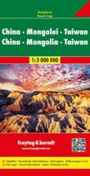 China - Mongolei 1:3.000.000 Travel Map (English, French and German Edition)