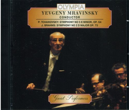 Yevgeny Mravinsky. Tchaikovsky - Symphony No.5, Brahms - Symphony No.2