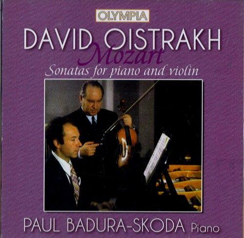 Mozart - Sonatas for Piano and Violin KV 306, KV 379, KV 454 - David Oistrakh