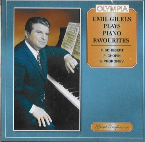 Emil Gilels plays piano favourites