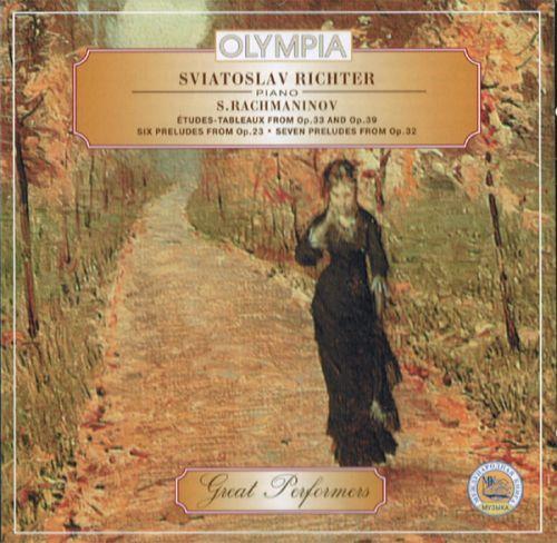 Rachmaninov - Etudes-Tableaux for Piano - Sviatoslav Richter