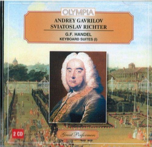 Andrei Gavrilov. Sviatoslav Richter. - G.F. Handel. Keyboard Suites.