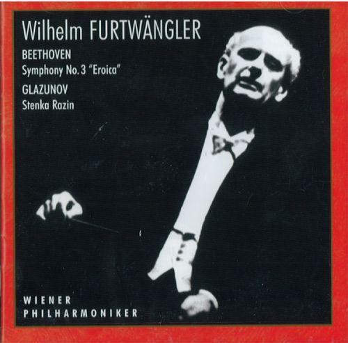 Wilhelm Furtwängler,  Berliner Philharmoniker. - Beethoven / Glazunov.