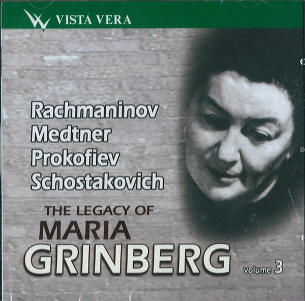 The Legacy of Maria Grinberg, Volume 3