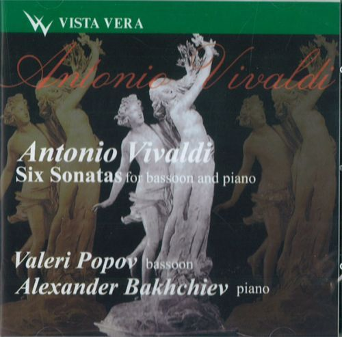 Valeri Popov, bassoon. Vivaldi. Six Sonatas for bassoon and piano