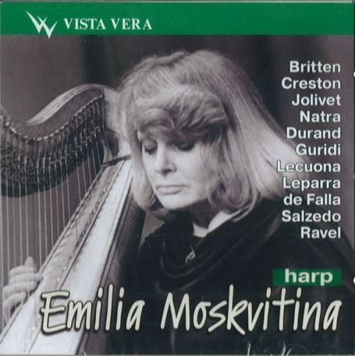 Emilia Moskvitina (harp)