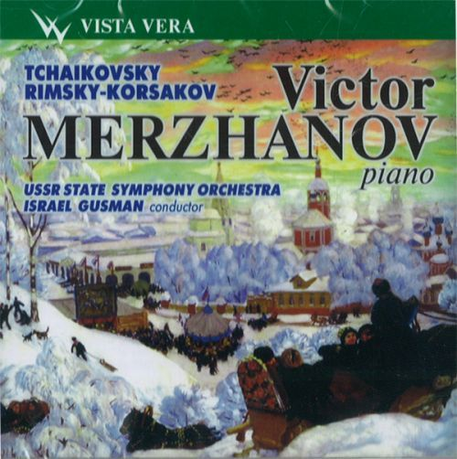 Виктор Мержанов, фортепиано. Чайковский. Времена года.  Римский-Корсаков. Концерт для фортепиано с оркестром.