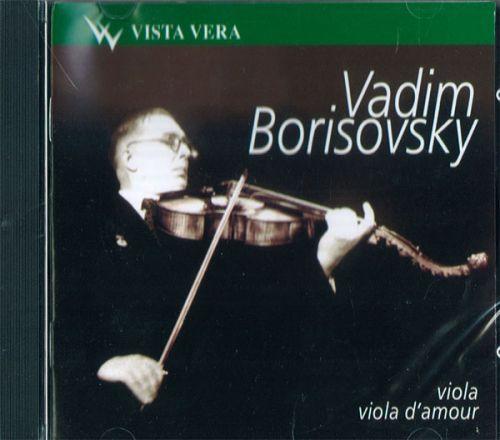 Vadim Borisovsky. Viola, Viola d'amour